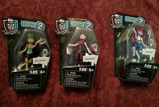 "Mega Bloks Monster High 3"" Figure SET OF 3 Series 2 - Draculaura Operetta Cleo"