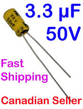 2pcs 3.3uF 50V 4x7mm ILLINOIS RLS Low ESR For RADIO PSU VIDEO AUDIO LCD LED DVD
