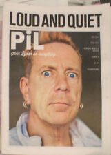 JOHNNY ROTTEN Sex Pistols INTERVIEW UK MAGAZINE JOHN LYDON PiL punk