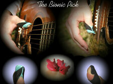 Learn guitar picking and play better with our custom Bionic thumb pick!