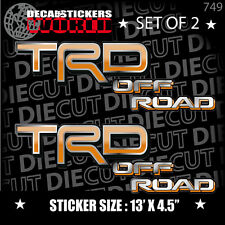 *NEW* 4X4 OFFROAD DECAL STICKER TACOMA TRD LANDCRUISER RAV4 CELICA JDM HILUX 749