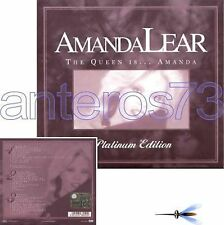 "AMANDA LEAR ""THE QUEEN IS"" 3 CD ITALY PLATINUM EDITION"