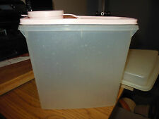 Tupperware Small CEREAL STORER Modular Mates Container 469 & PINK Seal Lid 470