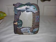 FISH AND DUCK picture photo frame GREAT GIFT IDEA  FIGI FRAMES 1993