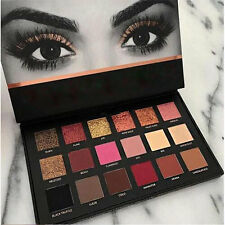 Professional Gold HUDA BEAUTY Eyeshadow 18 Colors Matte Eyeshadow Palette