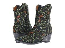 New in Box OG by Old Gringo Womens Dragon Fly Ankle Bootie Vesuvio Black 8 M