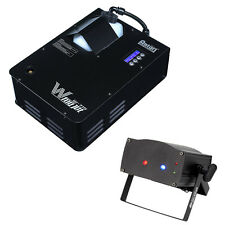 Elation Lighting W-715X Fog Jet Machine with Micro Royal Galaxian Laser Fixture
