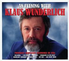 AN EVENING WITH KLAUS WUNDERLICH - 2 CD BOX SET - STAR WARS, YESTERDAY & MORE