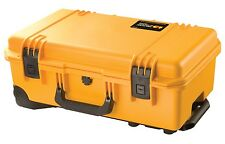 GENUINE Peli Storm iM2500 Airline Carry On Case No Foam RRP£225 colour YELLOW