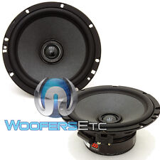"MOREL TEMPO ULTRA 602 INTEGRA 6.5"" 110W RMS 2-WAY COAXIAL 4 OHM SPEAKERS NEW"