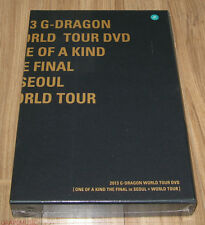 G-DRAGON GD 2013 ONE OF A KIND THE FINAL in SEOUL + WORLD TOUR DVD SEALED