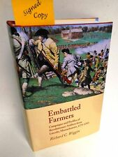 BOOK AmRev Embattled Farmers Campaigns & Profiles Lincoln MA by R Wiggin ip New
