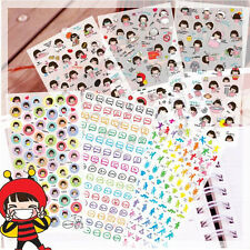 Good Morning Girl CPVC Stickers For Diary Day Planer Organizer Deco 6 Sheets