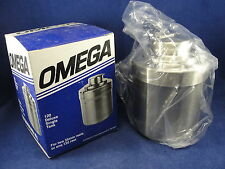 Omega Stainless Steel DLX Series 120 Deluxe Single Tank 35mm/120 New In Box