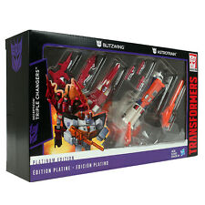 Transformers Platinum Edition Blitzwing & Astrotrain Triple Changers IN STOCK