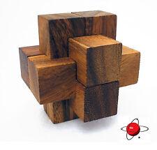 Burr - Wood Puzzle Brain Teaser Wooden NEW Mind Bender Rompecabeza Noggin Buster