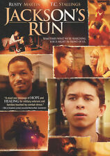 Jackson's Run Rusty Martin T.C. Stallings Christian Movie - DVD - New Sealed