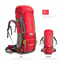 70L Waterproof Hiking Mountaineering Camping Hunting Backpack Shoulder Bag NEW