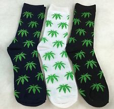 Wholesale Resale Cannabis Leaf Huf  Marijuana Weed 420 Pot Crew Socks 12 pairs.