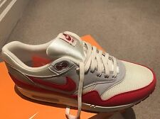 Nike AIR MAX 1 OG 2012 Red US 10 NUOVO CON SCATOLA