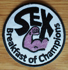 Motor Racing Car Cloth Patch Race Suit James Hunt Sex Breakfast of Champions