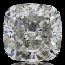 9.01 ct GIA certified L color SI2 clarity genuine natural cushion loose diamond