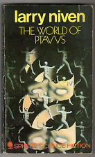 Larry Niven - World Of Ptavvs 1st Sphere Edition 1971