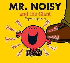 NEW sparkly MR NOISY and the GIANT (BUY 5 GET 1 FREE book) Little Miss Men