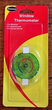 BRANNAN WINDOW THERMOMETER TEMPERATURE GAUGE CONSERVATORIES WINDOWS GREENHOUSES