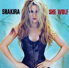 SHAKIRA - SHE WOLF / CD (EPIC/SONY MUSIC 2009) - TOP-ZUSTAND