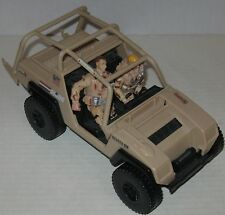 2001 GI Joe Desert Strike Vehicle w/ 2 GI Joe Figures by Hasbro