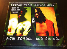 "New! BEENIE MAN & HORACE ANDY ""New School vs Old School"" (2-CD 2003) **SEALED**"