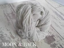 Hand Dyed Pale Grey Cheesecloth Newborn Baby Wrap. Photography photo prop