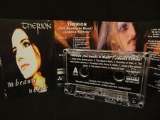 THERION The Beauty In Black / Lepaca Kliffoth MC CASSETTE ( EX )