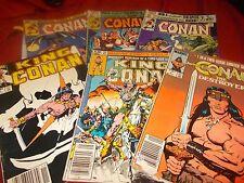 Conan (mixed lot set of 6) see list