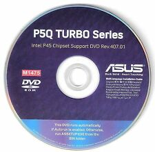 ASUS P5Q TURBO Motherboard Drivers Installation Disk M1475