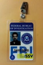 Criminal Minds ID Badge - David Rossi costume prop cosplay