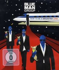 "BLUE MAN GROUP ""HOW TO BE A MEGASTAR-LIVE"" BLU- RAY NEU"