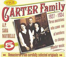 CARTER FAMILY-1927-1934 (5 Cd Box) CD NEW