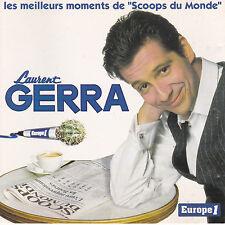 """CD 16T LAURENT GERRA LES MEILLEURS MOMENTS DE """"SCOOPS DU MONDE"""" 1999"""
