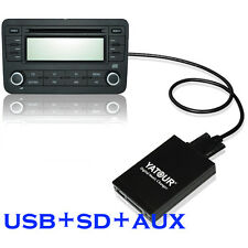 Yatour USB SD AUX Music MP3 Adapter for Nissan Qashqai Xtrail Almera Infiniti