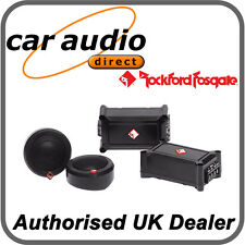 "ROCKFORD FOSGATE P1T-S 120 Watt 1"" Car Audio Stereo Component Tweeters Pair"