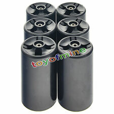 6 AA to D Size Battery Adapters Converters Holders Cases NEW