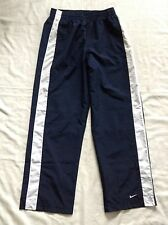 NIKE Sport Womens Pants Navy Blue Lined Fitness Running Sports Size Large SXS