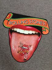 Rolling Stones Tattoo You Cut Out Tongue Poster Rare