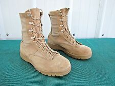 Belleville 790V US Military Army Desert Tan GoreTex Combat Boots Men's 9.5 Wide