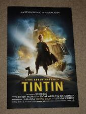 THE ADVENTURES OF TINTIN - Movie Poster - Flyer - 11x17