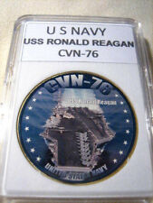 US NAVY - USS RONALD REAGAN - CVN-76 Commemorative Challenge Coin