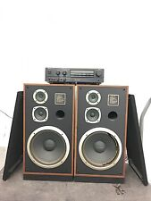 "Vintage Marantz SP1200 3 Way Floor Speakers (pair)- 12"" Woofer"