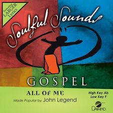 John Legend - All Of Me - Accompaniment CD New